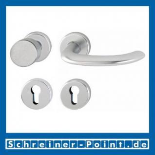 Hoppe Marseille Aluminium Rosettengarnitur F1 Natur 1138/42KV/42KVS, 2781496, 2768187, 2781681, 2782042, 2768216, 2783942 - Vorschau 4