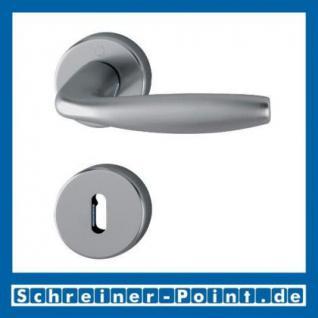 Hoppe New York Aluminium Rosettengarnitur F9 Stahlfarben 1810/42KV/42KVS, 3273215, 3273240, 3273266, 3273311