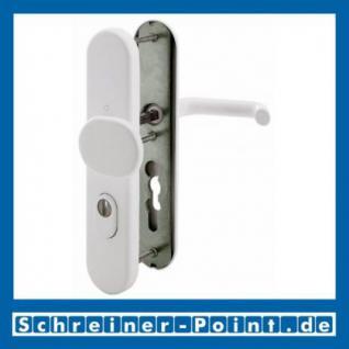 Schutzbeschlag Hoppe Paris Aluminium F9016 verkehrsweiß 86G/3332ZA/3330/138 ES1 (SK2), 3364619, 6938021, 3348213, 6938096