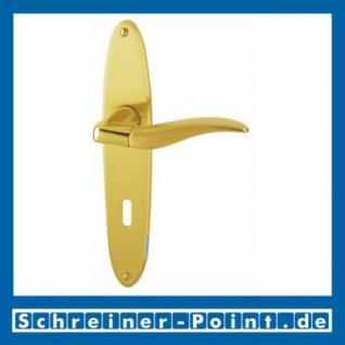 Hoppe Phoenix Messing poliert / satiniert F77-R/F52-R Langschildgarnitur M1640/343, 3044121, 3044130, 3044148, 3287668