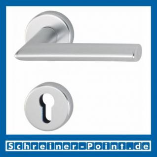 Hoppe Stockholm Aluminium Rosettengarnitur F1 Natur 1140/42KV/42KVS, 2782712, 2768291, 2783070, 2783205, 2768304, 2784101 - Vorschau 2