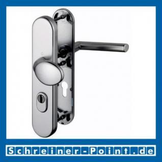 Schutzbeschlag Hoppe Stockholm Aluminium F9 Stahlfarben 76G/3332ZA/3440/1140 ES1 (SK2), 3345320, 3345266