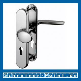 Schutzbeschlag Hoppe Stockholm Aluminium F9 Stahlfarben 76G/3331/3440/1140 ES1 (SK2), 3337186, 3337151 - Vorschau 1