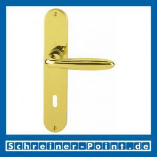 Hoppe Verona Messing poliert F71 Langschildgarnitur M151/302, 2803667, 6375331, 2803704, 6991103, 2803763, 6492599, 2804441, 6375406 - Vorschau 1