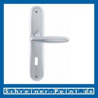 Hoppe Tokyo Aluminium Langschildgarnitur F1 Natur 1710/273P