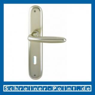 Hoppe Verona Aluminium Langschildgarnitur F2 Neusilber 1510/273P, 2962254, 6972160, 2962262, 29622721, 6972129, 2806593