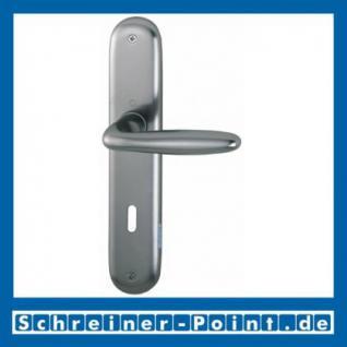 Hoppe Verona Aluminium Langschildgarnitur F9 Stahlfarben 1510/273P, 2962991, 2131397, 2963003, 2963011, 2131451, 2806614 - Vorschau 1