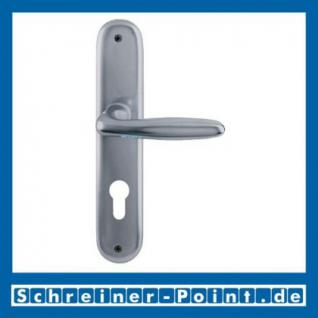 Hoppe Verona Aluminium Langschildgarnitur F9 Stahlfarben 1510/273P, 2962991, 2131397, 2963003, 2963011, 2131451, 2806614 - Vorschau 2