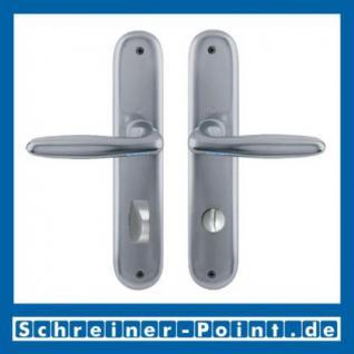 Hoppe Verona Aluminium Langschildgarnitur F9 Stahlfarben 1510/273P, 2962991, 2131397, 2963003, 2963011, 2131451, 2806614 - Vorschau 3