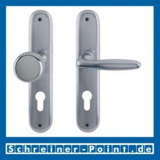 Hoppe Verona Aluminium Langschildgarnitur F9 Stahlfarben 1510/273P, 2962991, 2131397, 2963003, 2963011, 2131451, 2806614 - Vorschau 4