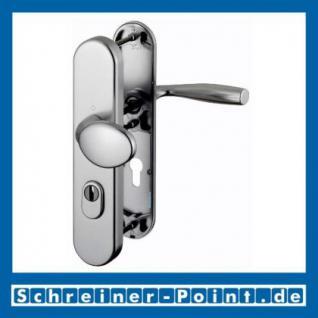 Schutzbeschlag Hoppe Vitoria Aluminium F9 Stahlfarben 76G/3332ZA/3440/1515 ES1 (SK2), 3358420, 3233281