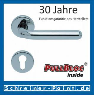 Scoop Image II PullBloc Rundrosettengarnitur, Rosette Edelstahl poliert - Vorschau 2