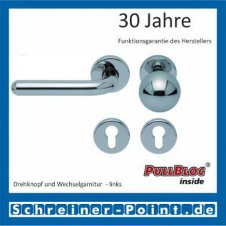 Scoop Image II PullBloc Rundrosettengarnitur, Rosette Edelstahl poliert - Vorschau 5