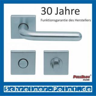 Scoop Image II quadrat PullBloc Quadratrosettengarnitur, Rosette Edelstahl matt - Vorschau 3