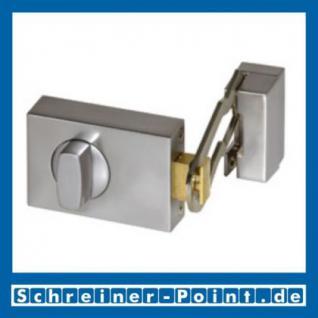 BASI Kastenzusatzschloss mit Sperrbügel Silber (matt verchromt) - Vorschau
