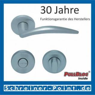 Scoop Lima PullBloc Rundrosettengarnitur, Rosette Edelstahl matt - Vorschau 3