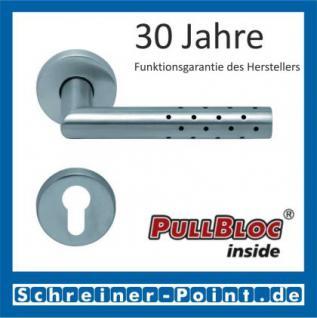 Scoop Lup PullBloc Rundrosettengarnitur, Rosette Edelstahl matt! - Vorschau 2