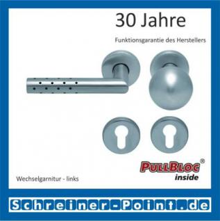 Scoop Lup PullBloc Rundrosettengarnitur, Rosette Edelstahl matt! - Vorschau 5