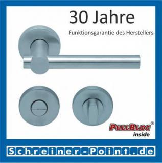Scoop Maxima PullBloc Rundrosettengarnitur Rosette Edelstahl matt - Vorschau 3