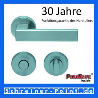 Scoop Quadra PullBloc Rundrosettengarnitur Rosette Edelstahl matt - Vorschau 3