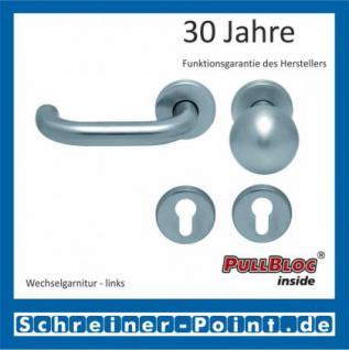 Scoop Ronda PullBloc Rundrosettengarnitur Rosette Edelstahl matt - Vorschau 5