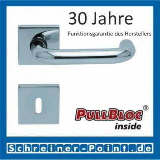 Scoop Ronda quadrat PullBloc Quadratrosettengarnitur, Rosette Edelstahl poliert - Vorschau 1