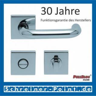 Scoop Ronda quadrat PullBloc Quadratrosettengarnitur, Rosette Edelstahl poliert - Vorschau 3