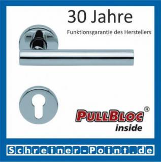 Scoop Roxy PullBloc Rundrosettengarnitur, Rosette Edelstahl poliert - Vorschau 2