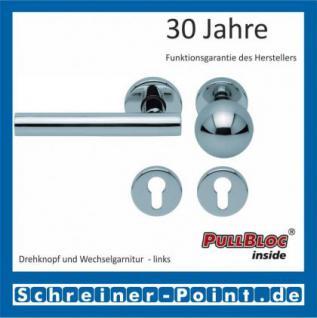 Scoop Roxy PullBloc Rundrosettengarnitur, Rosette Edelstahl poliert - Vorschau 5