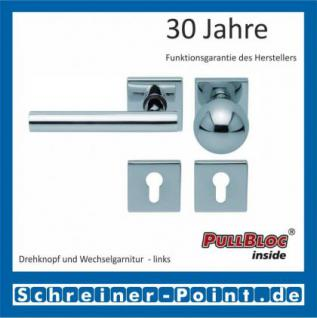 Scoop Roxy quadrat PullBloc Quadratrosettengarnitur, Rosette Edelstahl poliert - Vorschau 5