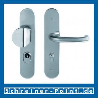 Scoop Ronda Safe Schutzbeschlag Edelstahl matt ES1 mit Kernziehschutz
