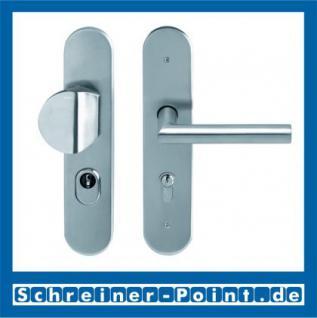 Scoop Thema Safe Schutzbeschlag Edelstahl matt ES1 mit Kernziehschutz