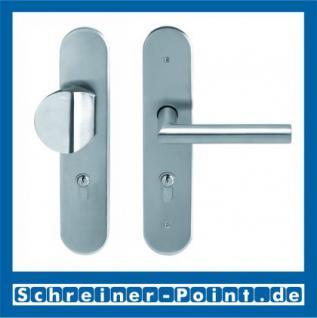 Scoop Thema Safe Schutzbeschlag Edelstahl matt ES1 ohne Kernziehschutz - Vorschau