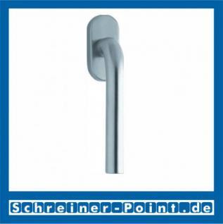 Scoop Image Fenstergriff Edelstahl matt Rosette oval,110041