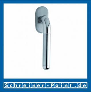 Scoop Tanja Fenstergriff Edelstahl matt Rosette oval,117341 - Vorschau
