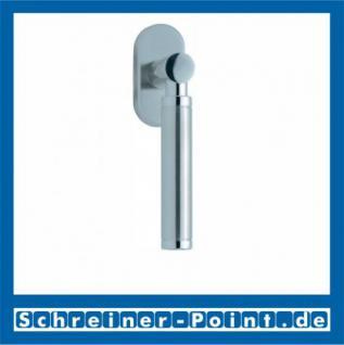 Scoop Ultimo Fenstergriff Edelstahl matt Rosette oval,101341 - Vorschau