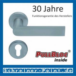 Scoop Semi PullBloc Rundrosettengarnitur Rosette Edelstahl matt - Vorschau 2