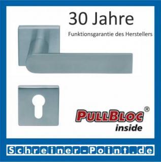 Scoop Semi quadrat PullBloc Quadratrosettengarnitur, Rosette Edelstahl matt - Vorschau 2