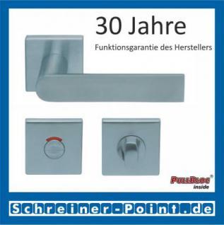 Scoop Semi quadrat PullBloc Quadratrosettengarnitur, Rosette Edelstahl matt - Vorschau 4
