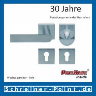Scoop Semi quadrat PullBloc Quadratrosettengarnitur, Rosette Edelstahl matt - Vorschau 5