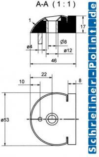 Edelstahl Türstopper Türpuffer - Vorschau 2