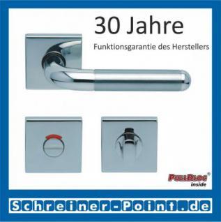 Scoop Tanja quadrat PullBloc Quadratrosettengarnitur, Edelstahl poliert/Edelstahl matt, Rosette Edelstahl poliert - Vorschau 4