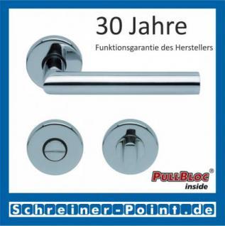 Scoop Thema PullBloc Rundrosettengarnitur, Rosette Edelstahl poliert - Vorschau 3