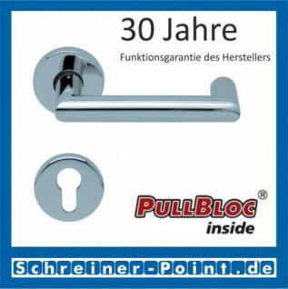 Scoop Thema U PullBloc Rundrosettengarnitur, Rosette Edelstahl poliert - Vorschau 2