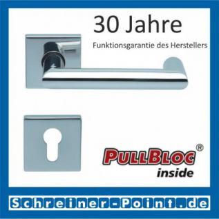 Scoop Thema U quadrat PullBloc Quadratrosettengarnitur, Rosette Edelstahl poliert - Vorschau 2