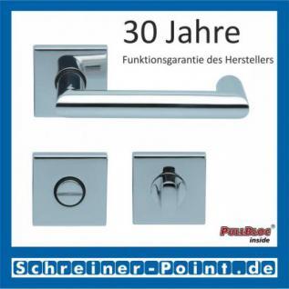 Scoop Thema U quadrat PullBloc Quadratrosettengarnitur, Rosette Edelstahl poliert - Vorschau 3
