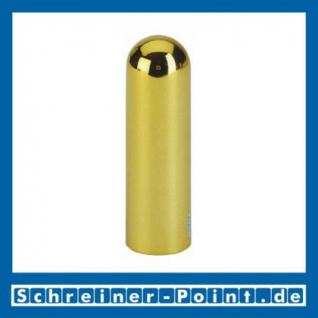 Hoppe Kunststoff-Zierhülse Metallfinish Messing poliert F71, (Satz 4 Stück) 8201105