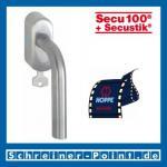 Hoppe Bonn Edelstahl Fenstergriff F69 abschließbar Secustik E150Z/US950S (100Nm), 2548361, 2548379
