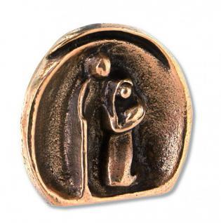 Weihnachtskrippe Heilige Familie, Bronze 4, 5 cm