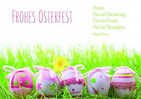 Osterkarte Frohes Osterfest (6 Stck)